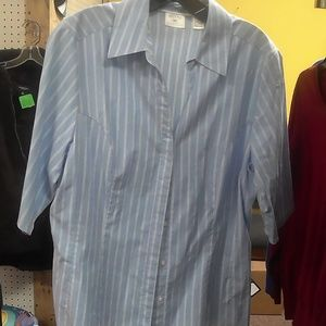 Riders Easy Care Ladies Button Up